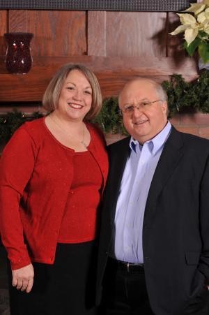 Donors Beth and Kurt Heikkila