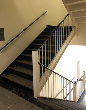 Chemistry building stairwell