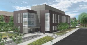 Artist Rendering of the CAMS Building