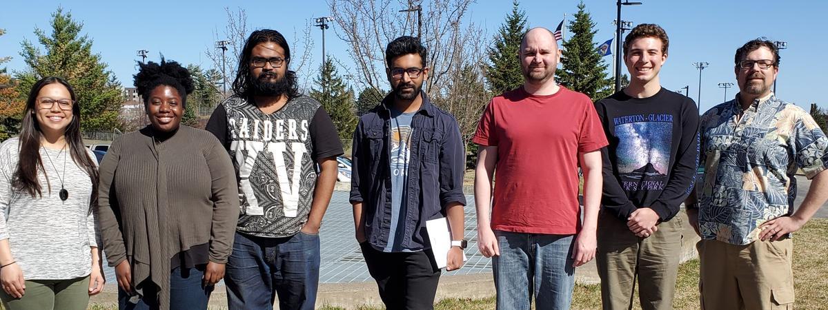 Physics Grad Students