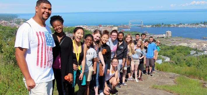 Math Prep camp participants