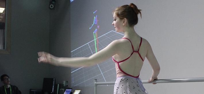 Ballet Dancer Motion Capture