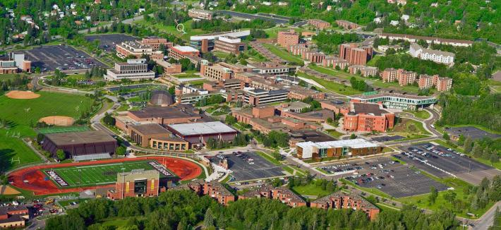 Aerial View of UMD