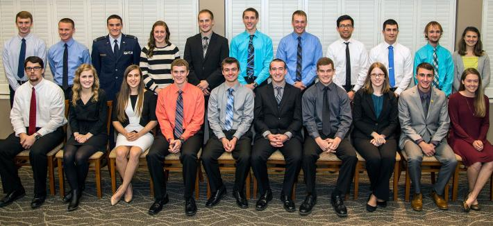 Civil Engineering 2016 Scholarship Winners