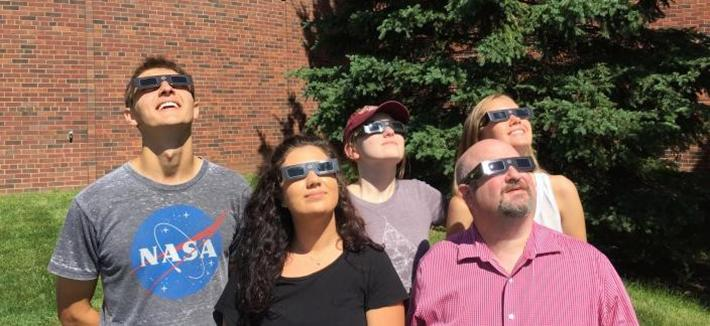 Planetarium Staff Eclipse