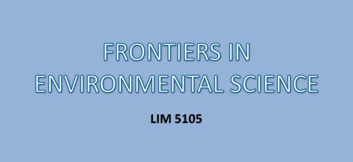 frontiers in environmental science