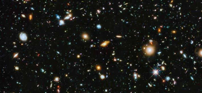 Hubble Image of Deep Space