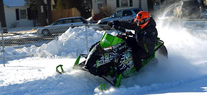 Clean Snowmobile