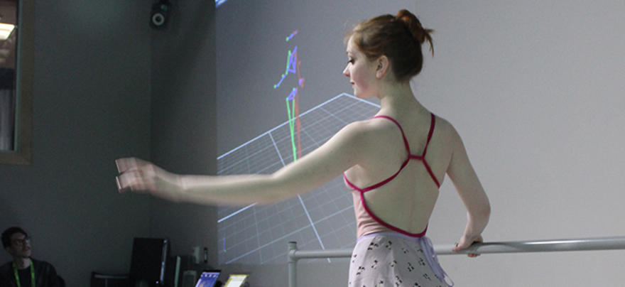 Ballet Dancer Motion Capture