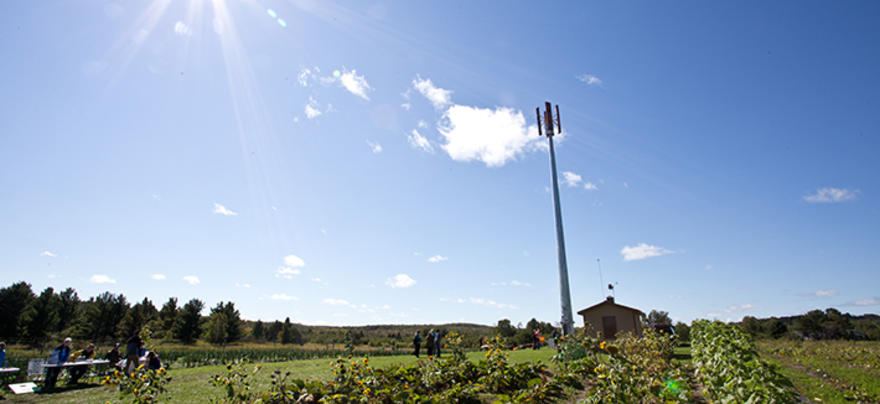 Windmill at UMD Farm