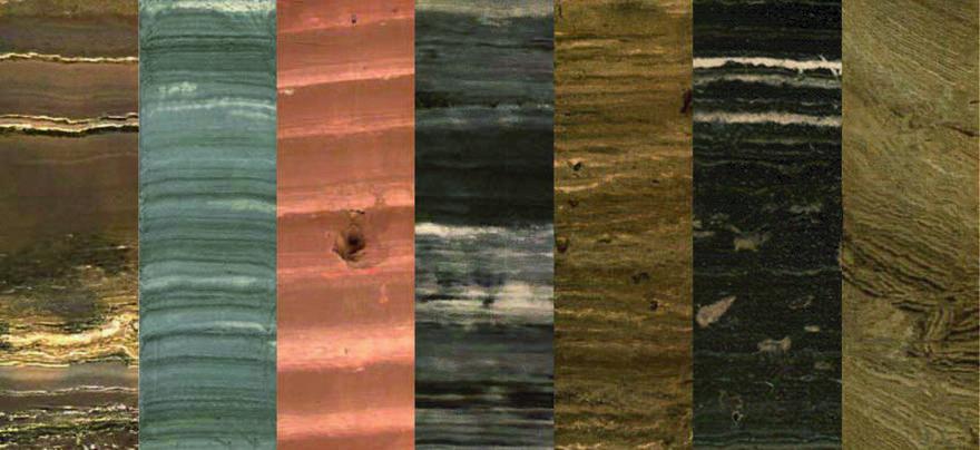 Sediment cores