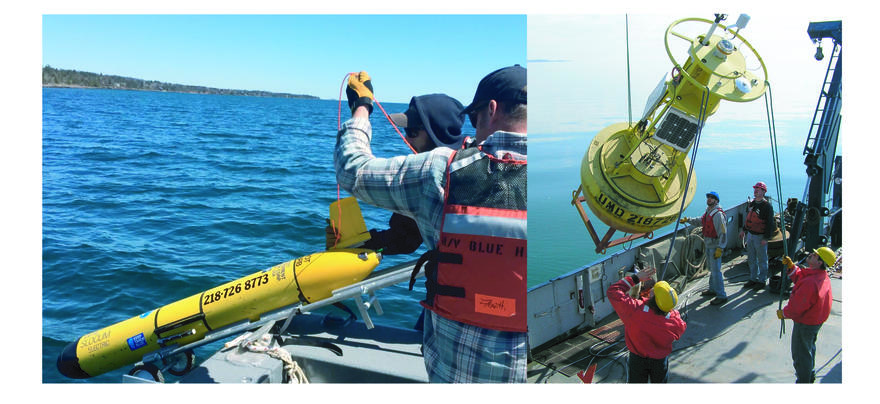 Glider and Buoy deployments
