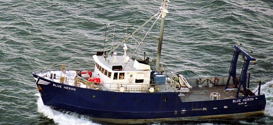 R/V Blue Heron operated by the Large Lakes Observatory