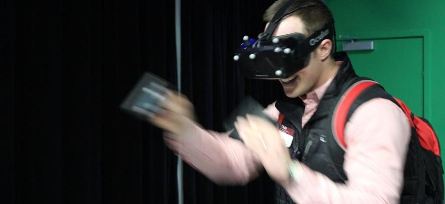 Virtual Reality Game User