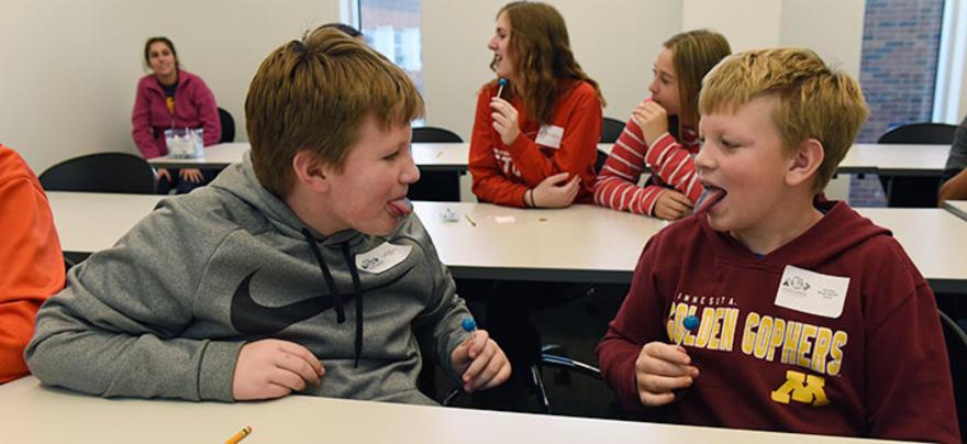 Students Tastebud Testing