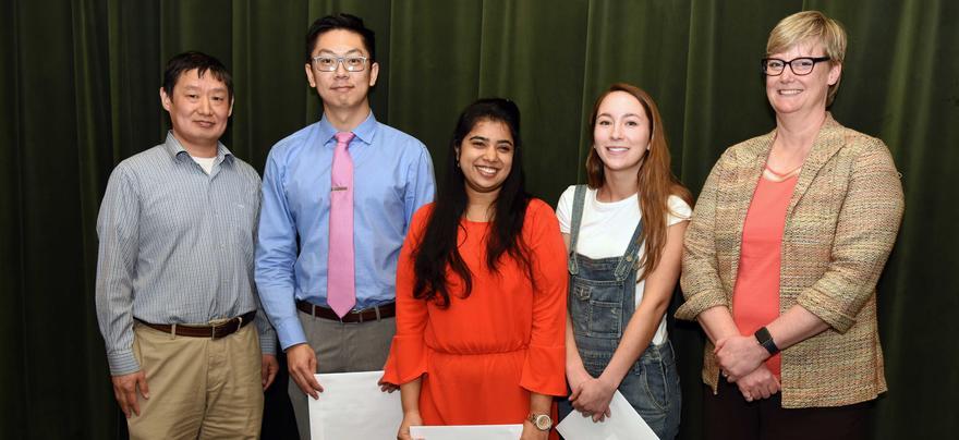 Graduate Teaching Assistant Award Winners