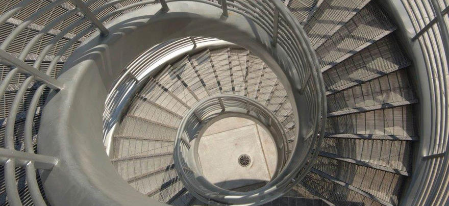 Spiral Stairs at SSB