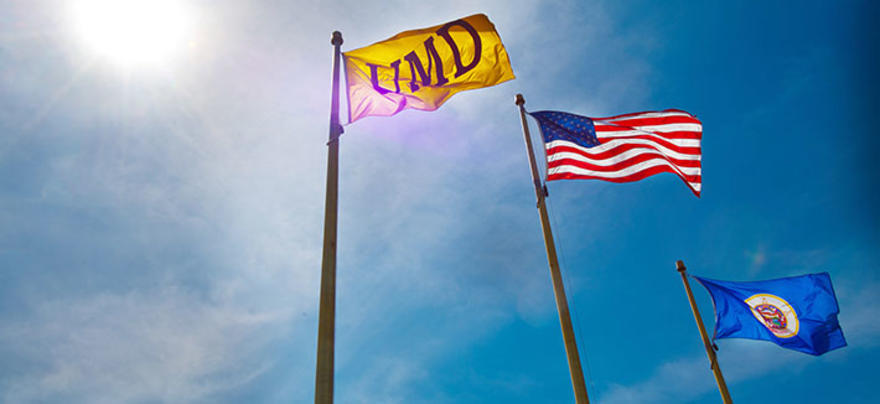 UMD Campus Flags
