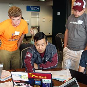 Student Advisor with Freshmen