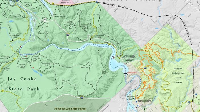 duluth map