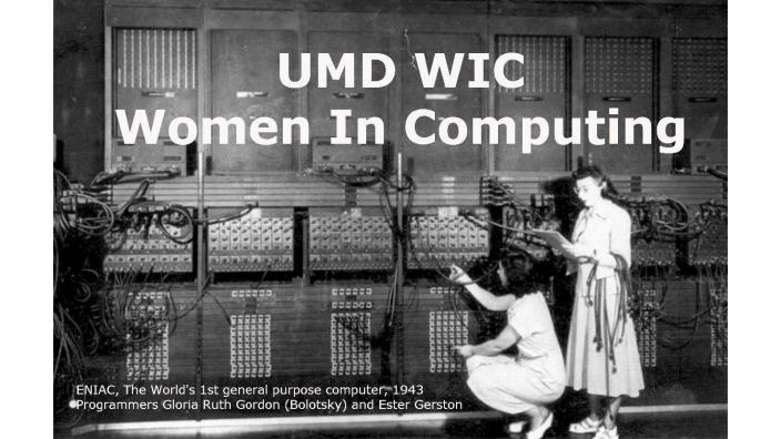 Women in Computing Fall 2017 Events