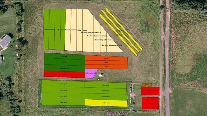 Land Lab map