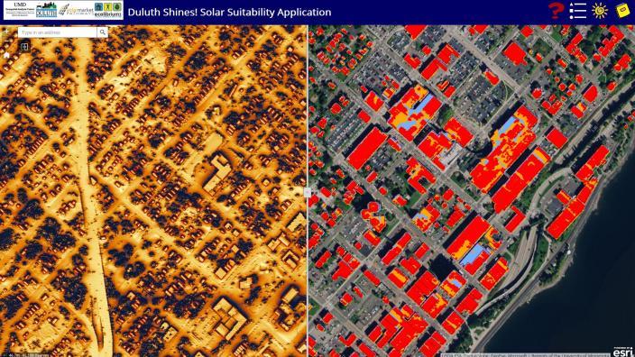 Solar app screenshot