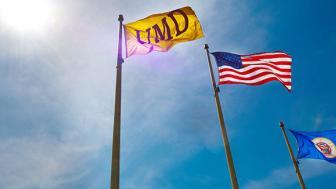 UMD Campus Flags