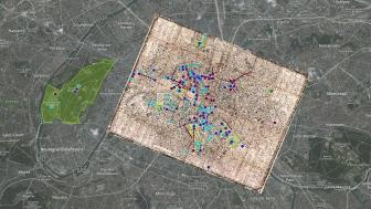 Balzac Paris Map