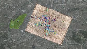 Balzac Paris Map