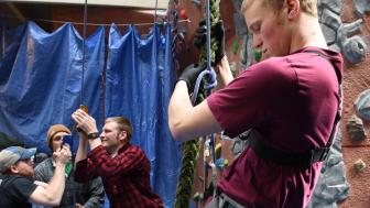Students Testing Descent System