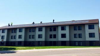 Aspen Apartments with Solar Panels