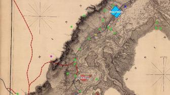 Spirit Mountain map