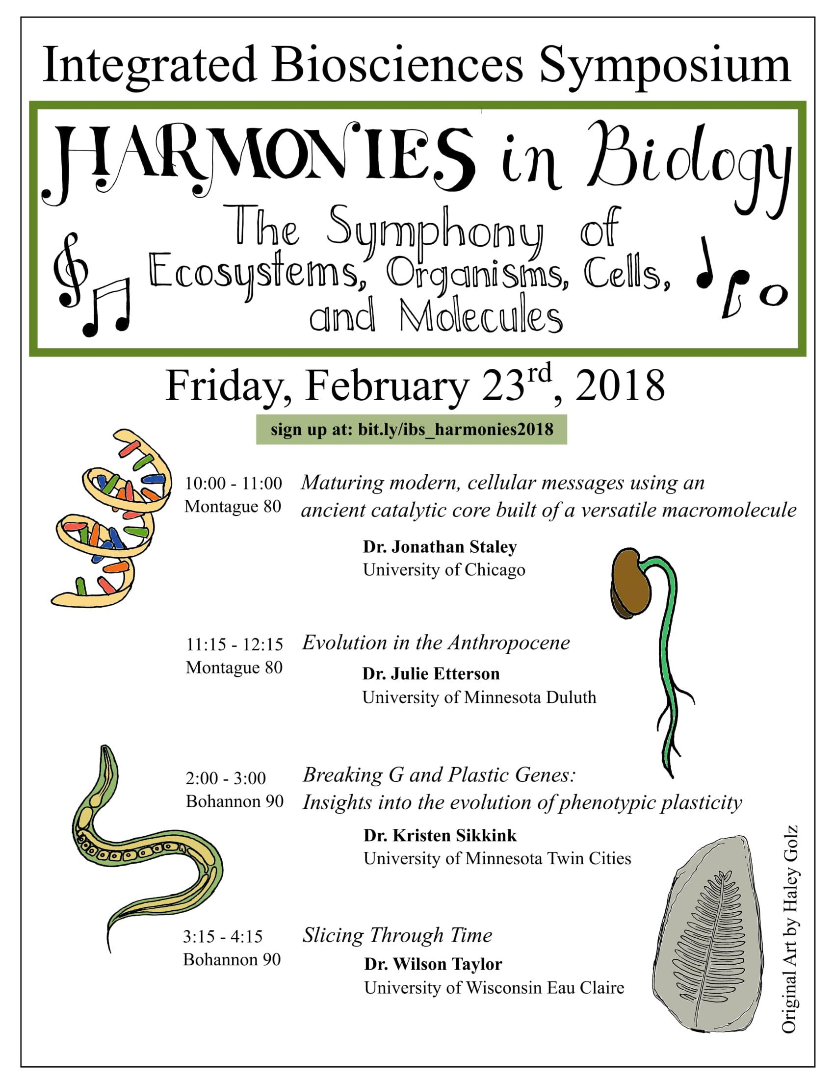 harmonies in biology symposium