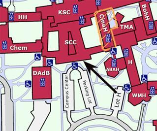 Map to Math Department
