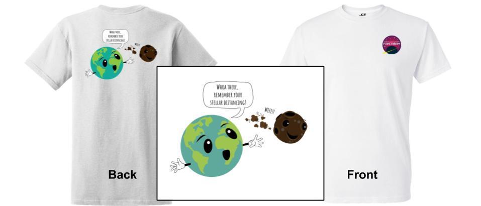 Stellar Distancing T-shirt
